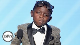 Jarrius Robertson Receives Jimmy V Award For Perseverance | The ESPYS | ESPN