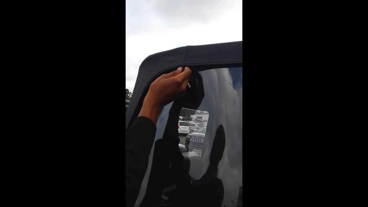 Wrangler Rear Window Wrangler Window Roll up
