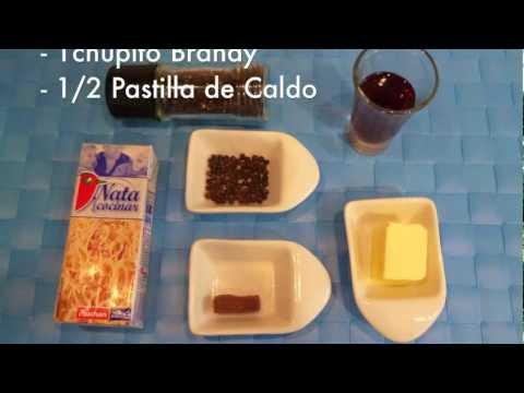 Salsa a la pimienta para carnes - Recetas de salsas