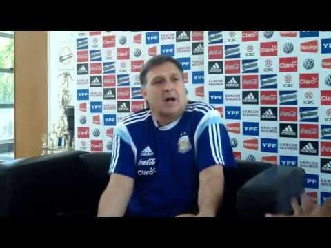 Entrevista con Gerardo Martino -