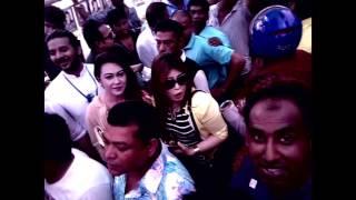 বাংলাদেশ চলচ্চিত্র শিল্পী সমিতির নির্বাচন ১৭/chikon ali election/ শাকিব,রিয়াজ,পপি,পূর্ণিমা চিকন আলী