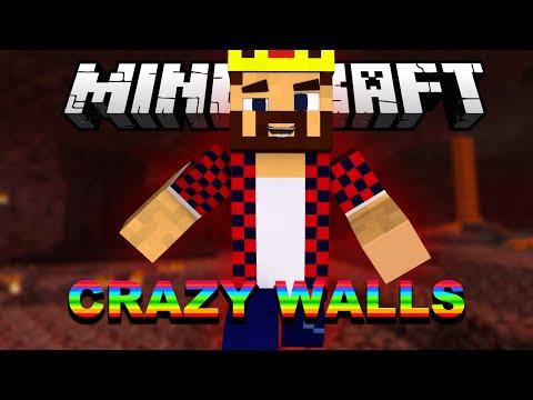БЕЗУМНАЯ БЕГОТНЯ - Minecraft Crazy Walls (Mini-Game)