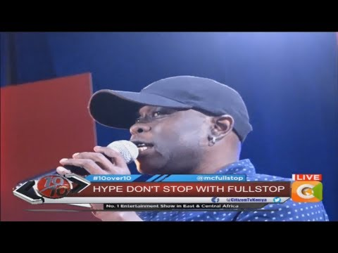 THE BEST ADVICE! MC Fullstop reveals tribulations from alcohol abuse #10Over10
