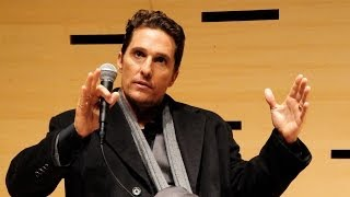 Matthew McConaughey On Why He Makes Films