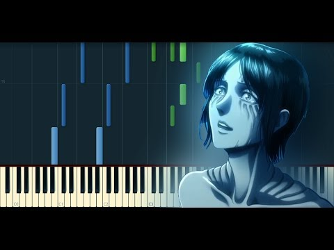 Shingeki No Kyojin進撃の巨人S2EP10 OST - Call Of Silence [Piano Cover] // Synthesia