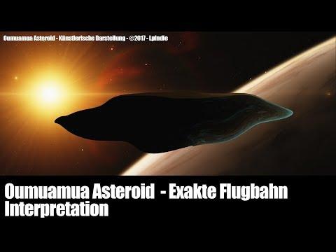 Oumuamua Exakte Flugbahn - Ist es ein Schiff?
