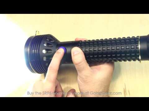 Olight SR96 Intimidator 4800 Lumen Flashlight Extended Review