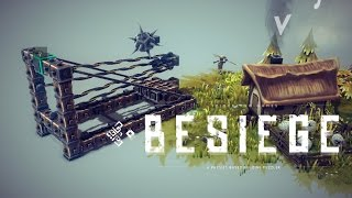 Viking Catapult - Besiege Creation