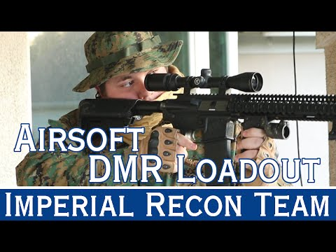 Airsoft dmr loadout