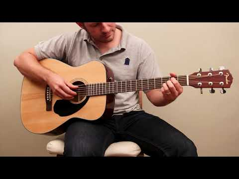 Fender CC-60S - Our pick for best acoustic guitar for beginners