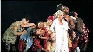 P Nk 34 What About Us 34 Madison Square Garden April 4 2018