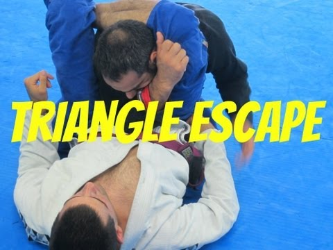Brazilian Jiu Jitsu Triangle Escape Technique Image 1