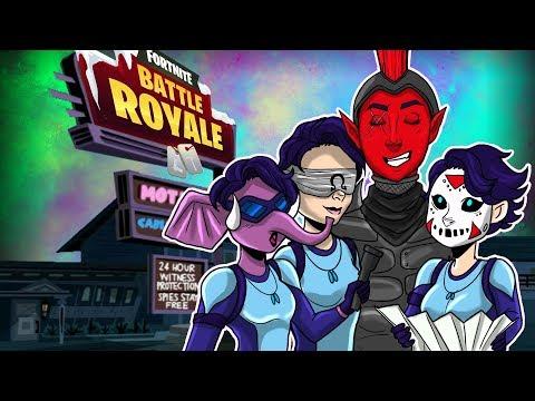 """Heading To The Motel""   Fortnite Battle Royale   w H2ODelirious, CaRtOoNz, Ohmwrecker"
