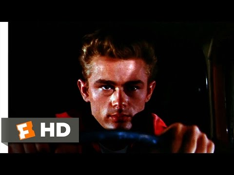Rebel Without A Cause (1955) - The Chickie-Run Scene (7/10) | Movieclips