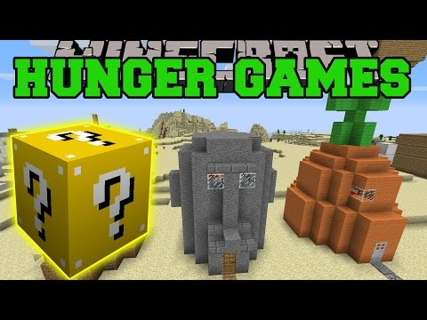 Minecraft: BIKINI BOTTOM HUNGER GAMES - Lucky Block Mod - Modded Mini-Game