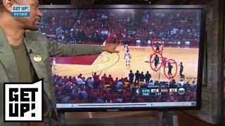 Jalen Rose breaks down film of Rockets from Game 2 win over Warriors | Get Up! | ESPN