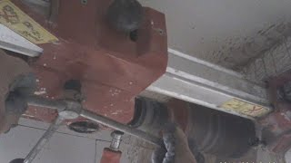 CORE DRILLING IN  REINFORCED CONCRETE 100mm Kernbohrung  102mm Beton Hilti DD120