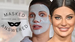Hannah Stocking's Skincare Confessions | Masked And Answered | Marie Claire