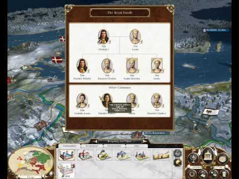 empire totalwar royal family tree mod