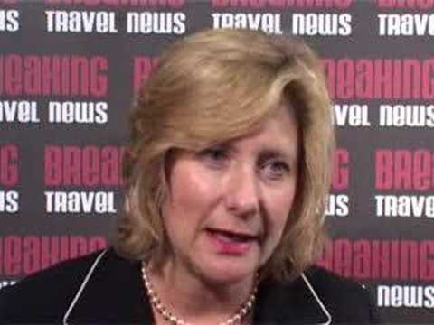 Diana Banks, Senior Vice President, Sales & Marketing, Utell Hotels and Resorts @ WTM 2007