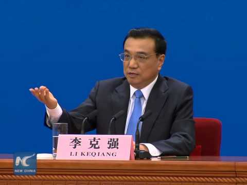 RAW: Chinese Premier Li Keqiang stresses rule of law in fighting corruption