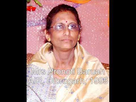 Assamese Modern Song -Pronoti Baruah part-7