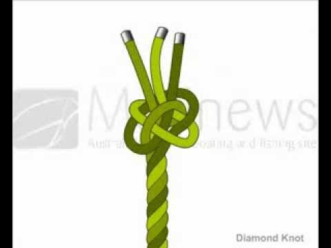 How to Tie Diamond Knot