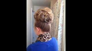 Everyday Curly Updo