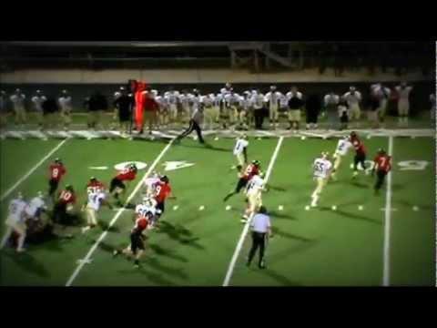 Cameron Blackburn #4 Pendleton High School Runningback (Junior Season)