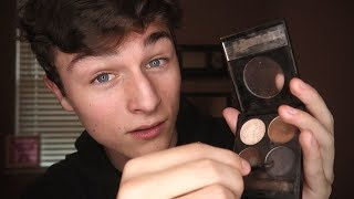 ASMR ~ Loving Boyfriend Does Your Makeup (Sleep-Inducing)