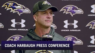John Harbaugh Is Thankful for His Players This Holiday Season | Baltimore Ravens