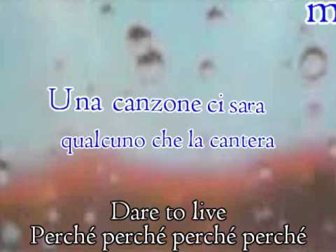 Andrea Bocelli feat Laura Pausini  Dare To  Vivere  Karaoke Version