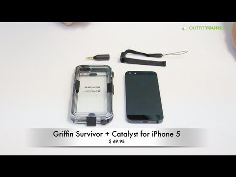 Griffin Survivor + Catalyst Waterproof iPhone 5S & iPhone 5 Case Review