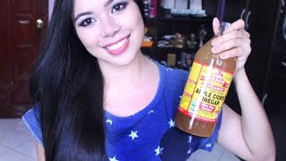 How to Make ACV Rinse & Benefits for Your Hair & Scalp -Get Shinny Hair
