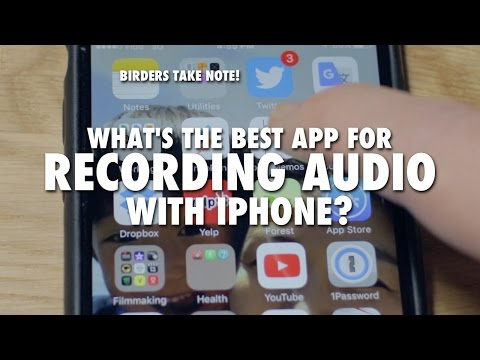 What's the Best App for Recording Audio with iPhone?