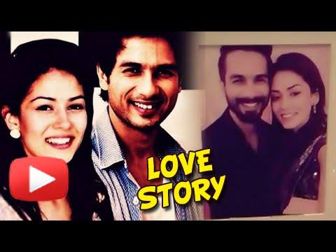 Revealed: Shahid Kapoor & Mira Rajput's Love Story
