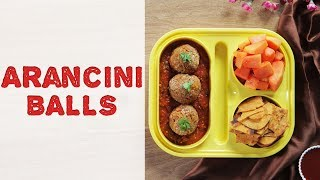 Arancini Rice Balls Recipe | How To Make Arancini Balls At Home | Fusion Recipe For Kids Tiffin Box