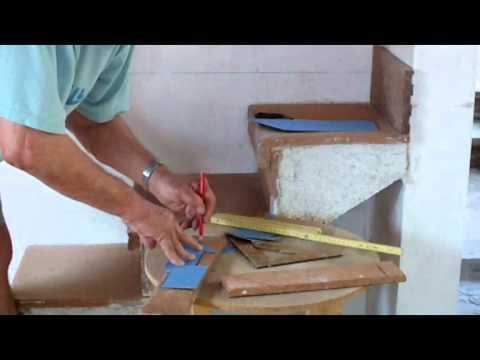C mo preparar y colocar z calo en pelda os escalera v deo for Como hacer gradas