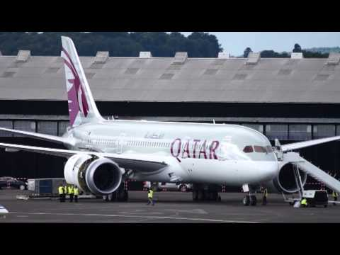 Boeing 787-8 Dreamliner engine worries - Farnborough 2012