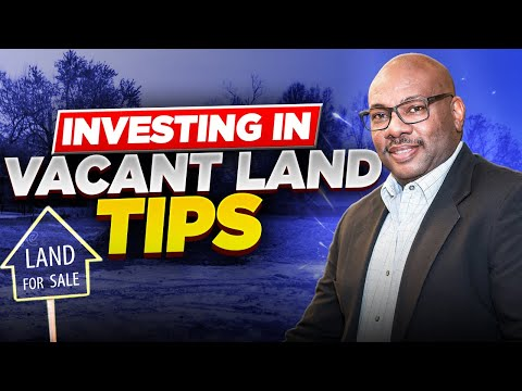 How to Create cash-flow from Vacant Land