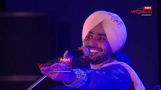 Shayari Meri Nu Rang Baksho - Aadmi - Satinder Sartaaj Live - Jammu - MM World