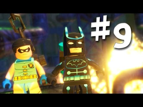 Road To Arkham Knight - Lego Batman 2 Gameplay Walkthrough Part 9 - It's Getting Hot In Here