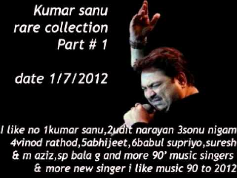 Bollywood hindi indian collection songs part 3 rare kumar sanu...