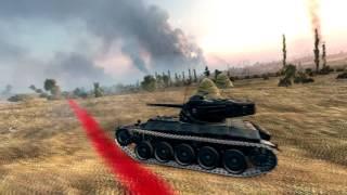 Обзор ветки до Bat  Chatillon 25 t от FERMERTV [World Of Tanks]