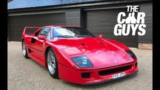 Ferrari F40 - what's it like driving and owning the GREATEST EVER FERRARI