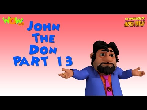 John The Don Compilation - Motu Patlu Compilation -Part 13 - As seen on Nickelodeon thumbnail