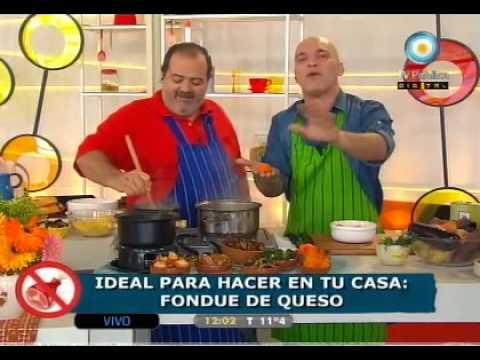 Recetas sin carne: Irresistible Fondue de Queso.