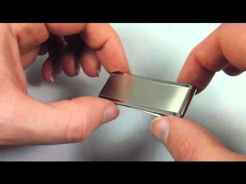 Slim Titanium Money Clip