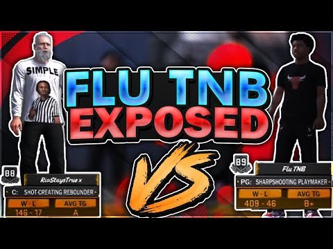 NBA 2K18 FLU TNB EXPOSED!!! DROPPED OFF 22-0!! DRIBBLE GOD EXPOSED!