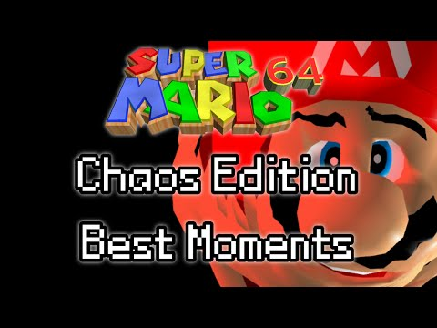 Super Mario 64: Chaos Edition (Best Moments)